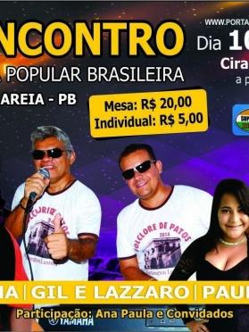 1º ENCONTRO DA MUSICA POPULAR BRASILEIRA CACIMBA DE AREIA